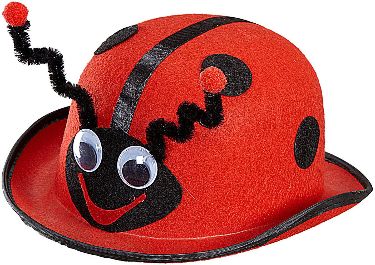 Rode lieveheersbeestje bolhoed