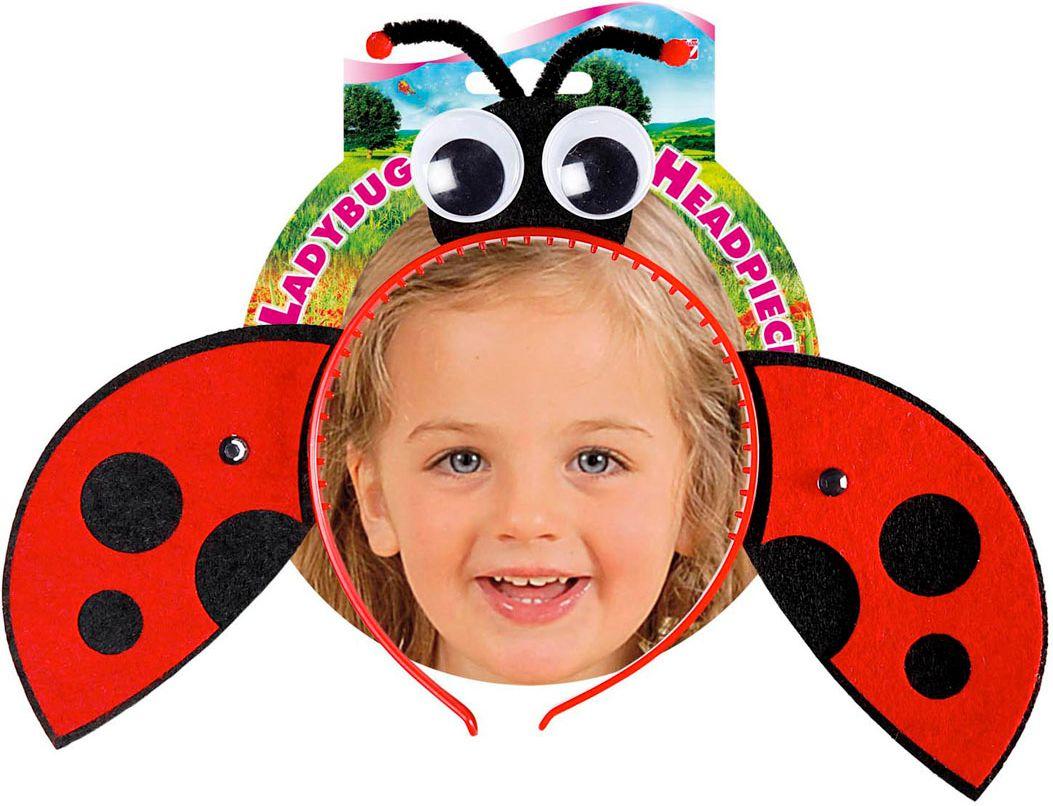 Rode lieveheersbeestje hoofdband