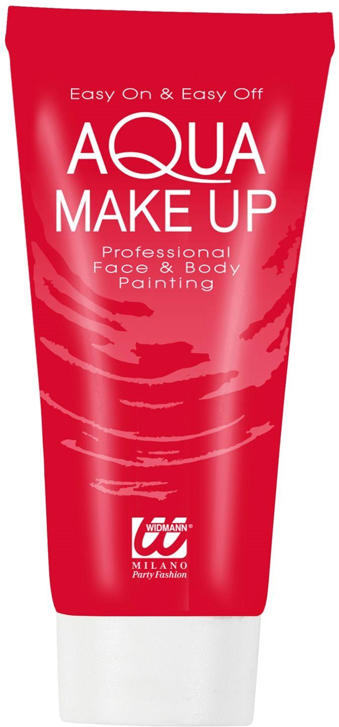 Rode make-up tube waterbasis