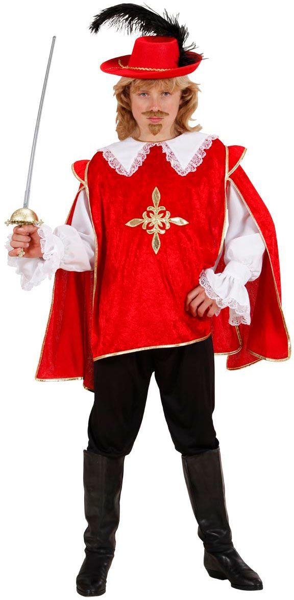 Rode musketiers jongen