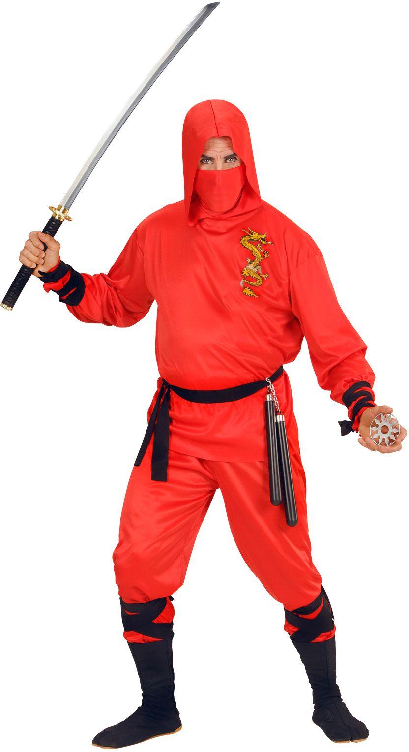 Rode ninja draak