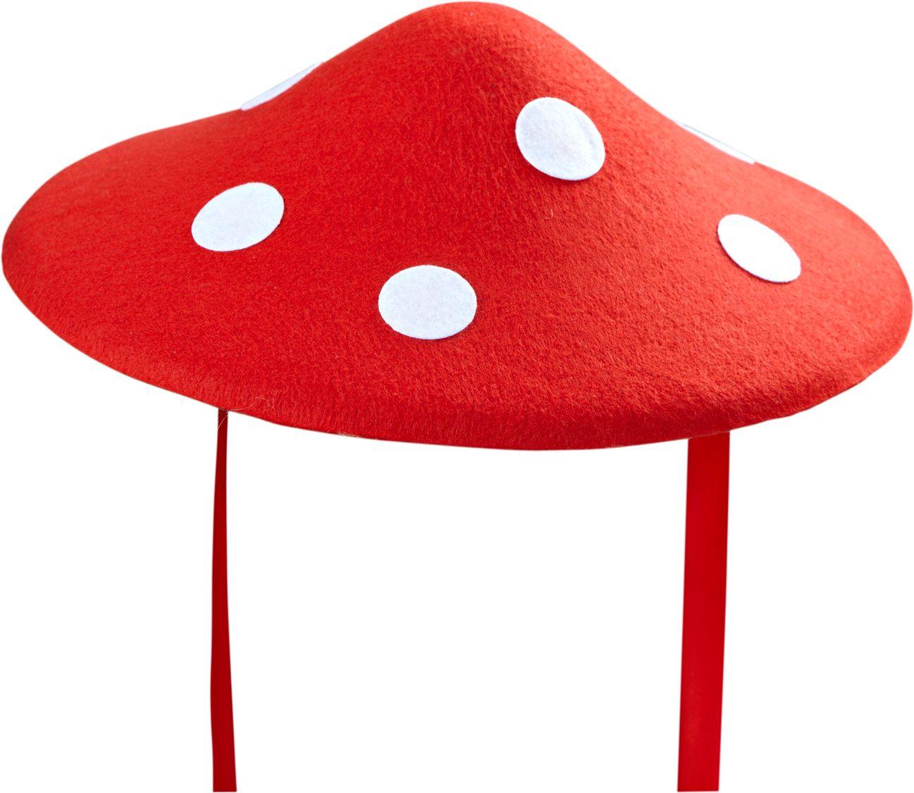 Rode paddenstoelen hoed