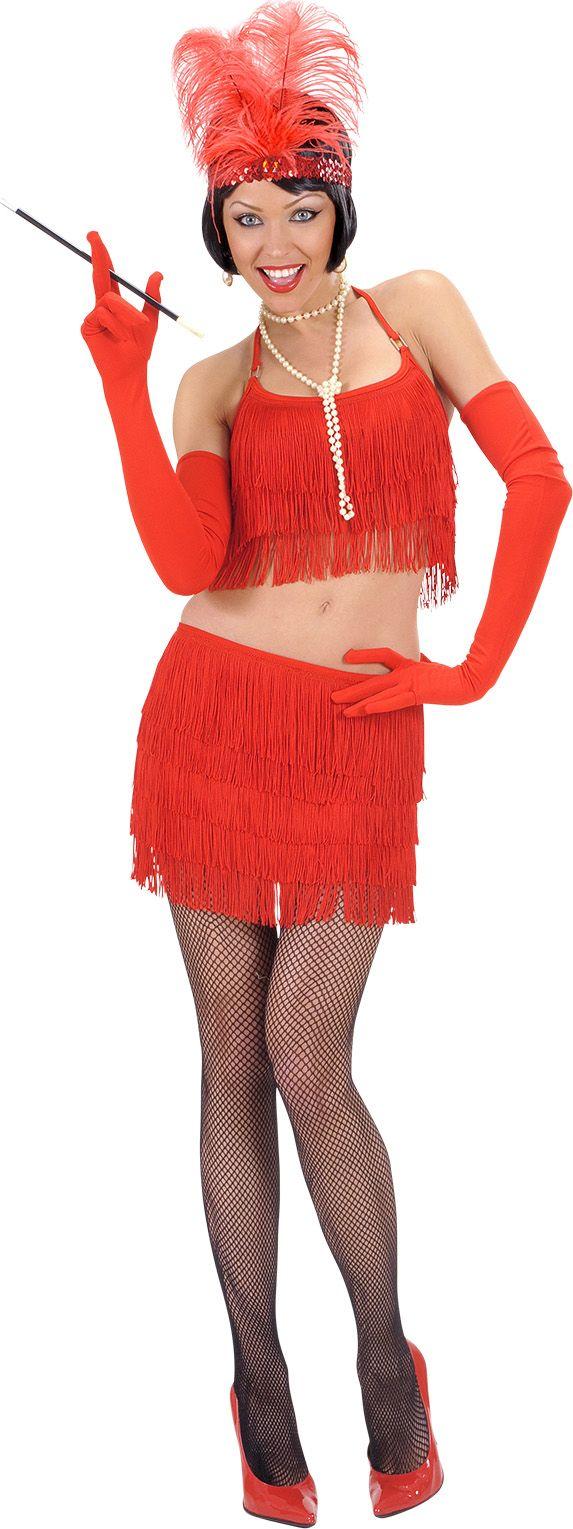 Rode rok en top