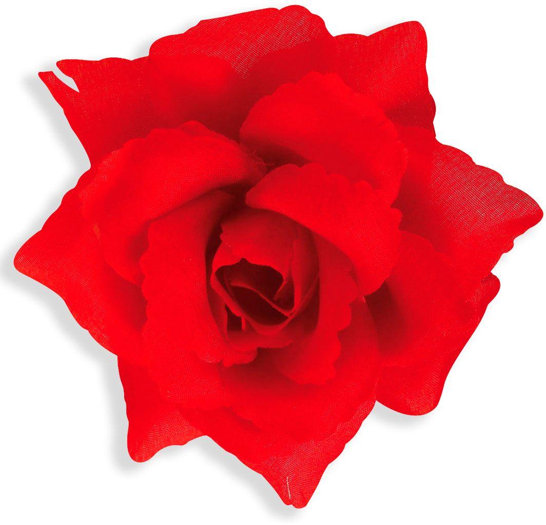 Rode roos broche