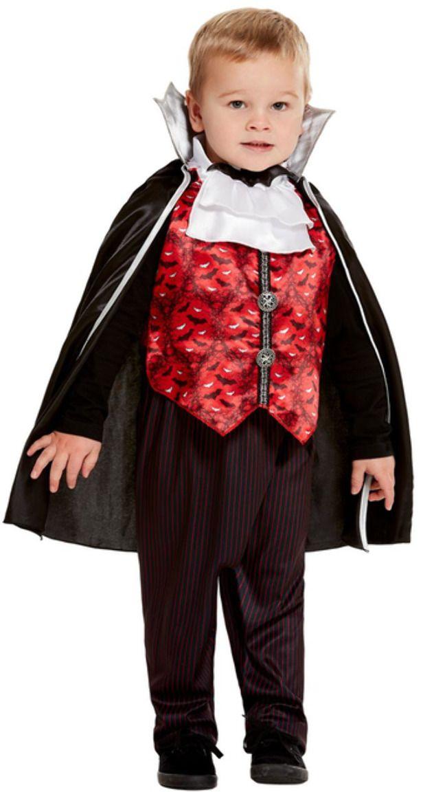 Rode vampier pakje peuter