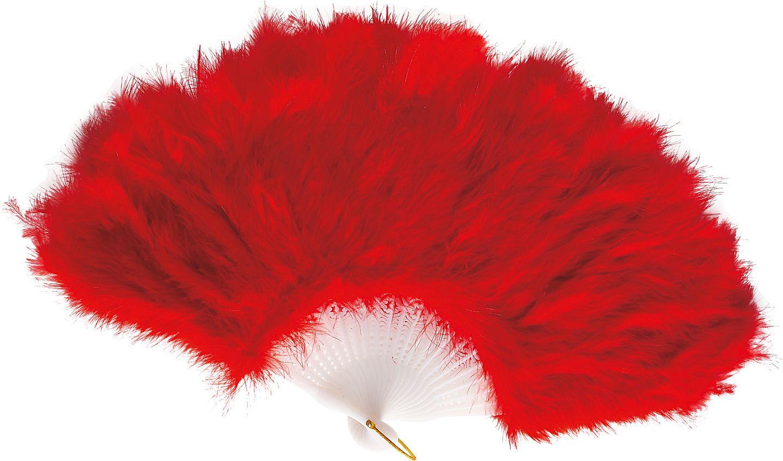 Rode veren waaier
