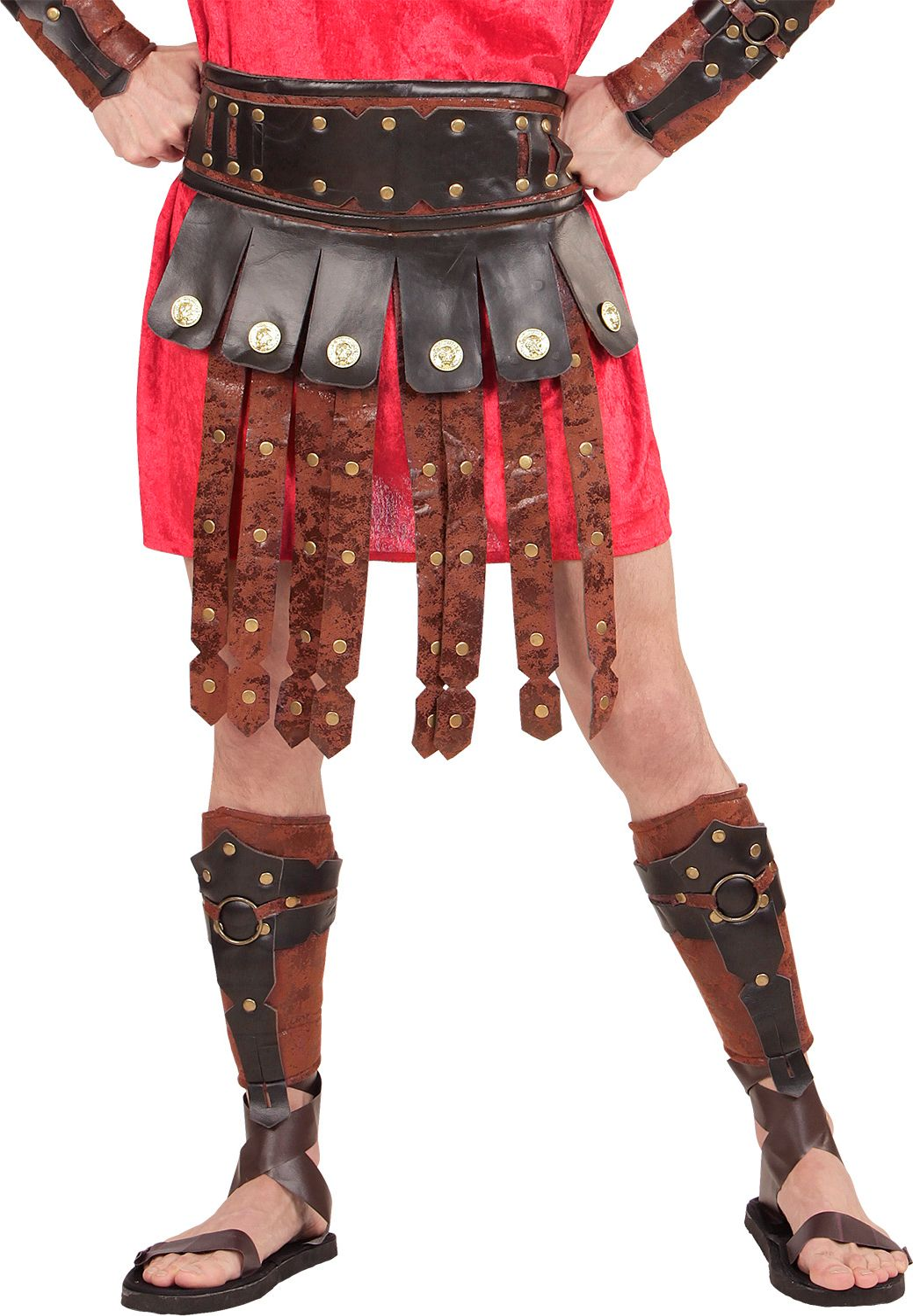 Romeins schort met riem One-size-volwassenen
