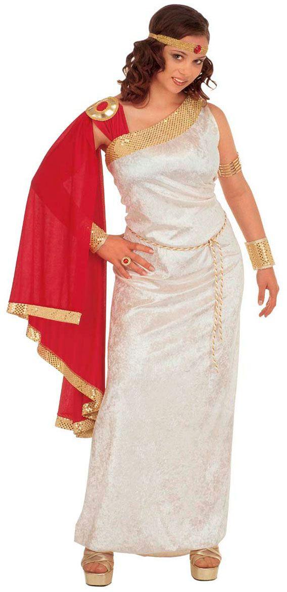 Romeinse dame Lucilla Kostuum