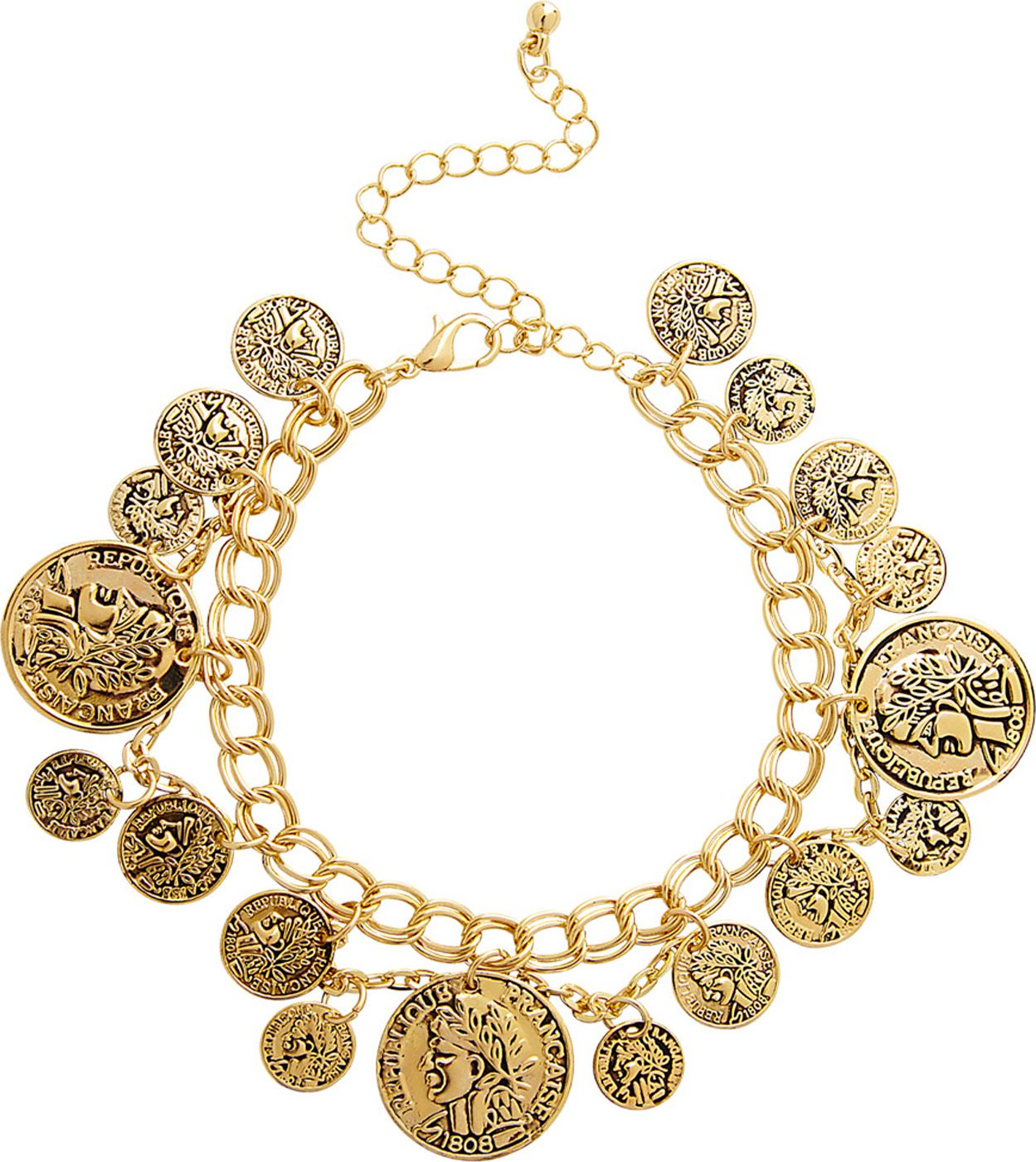Romeinse gouden munten armband