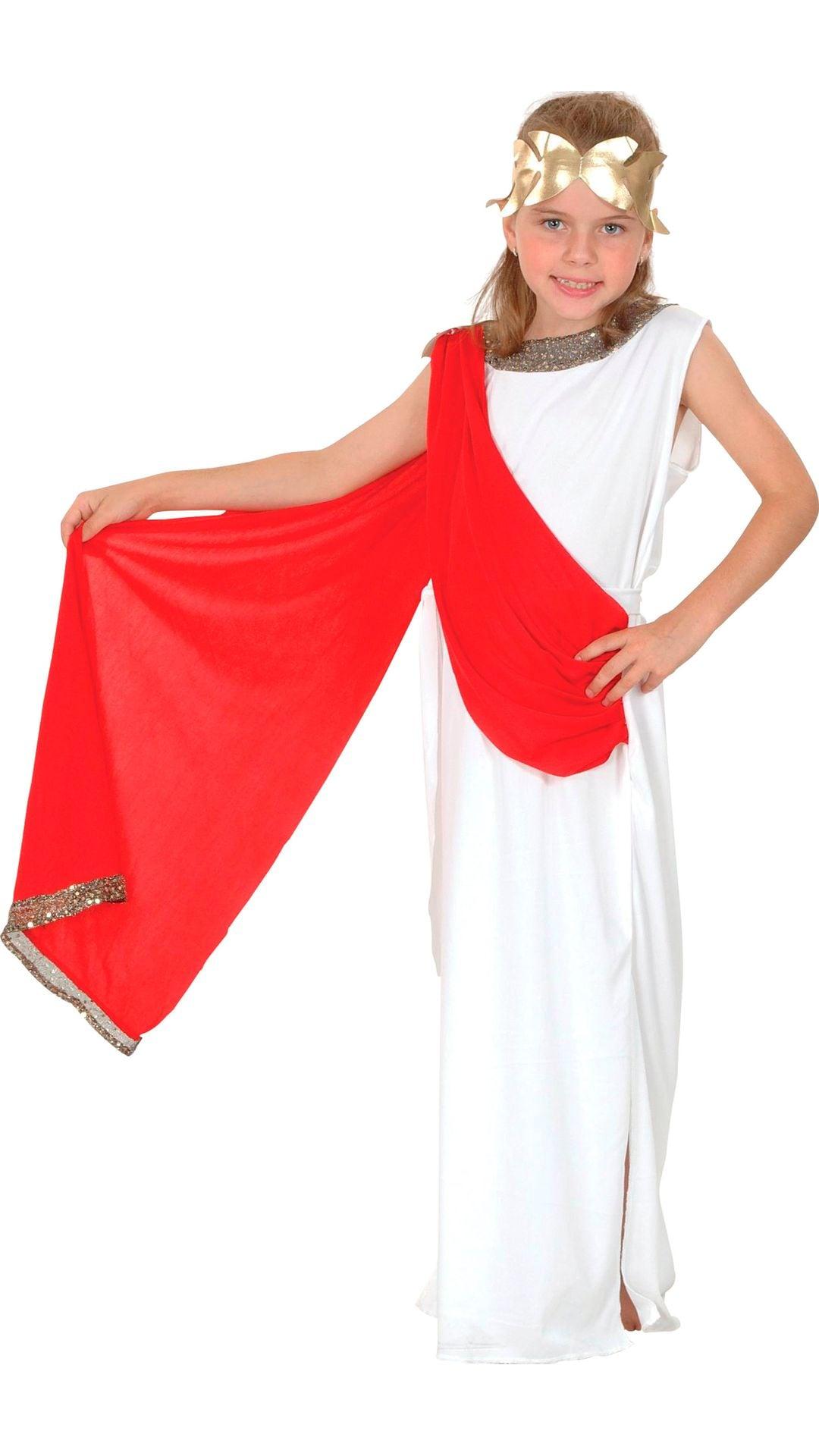 Romeinse keizerin kostuum meisjes