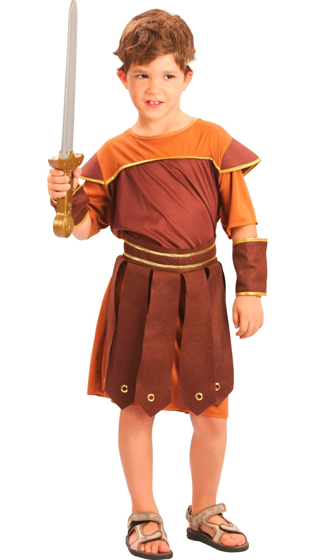 Romeinse soldaat kostuum jongens