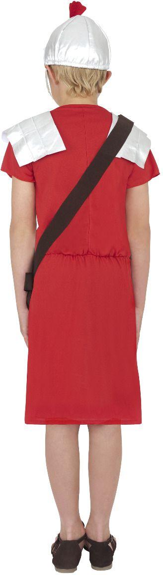 Romeinse soldaat kostuum rood