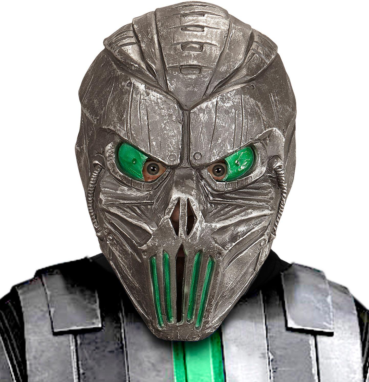 Rood alien masker