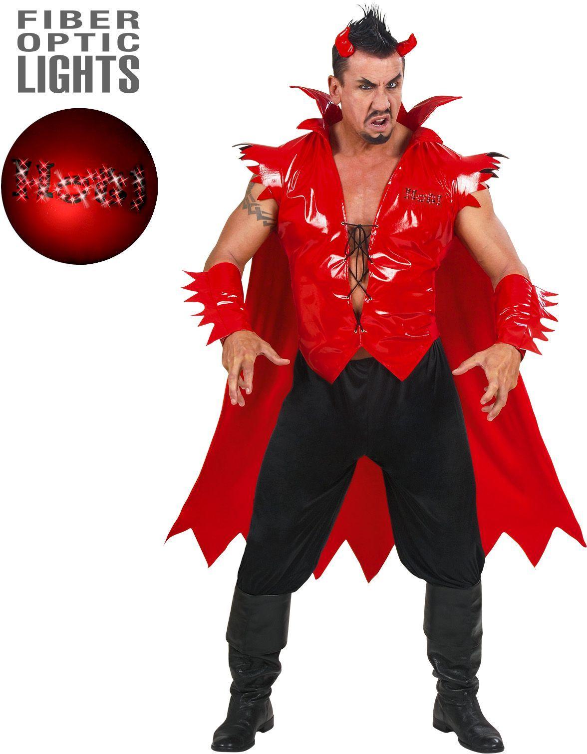 Rood duivel pak