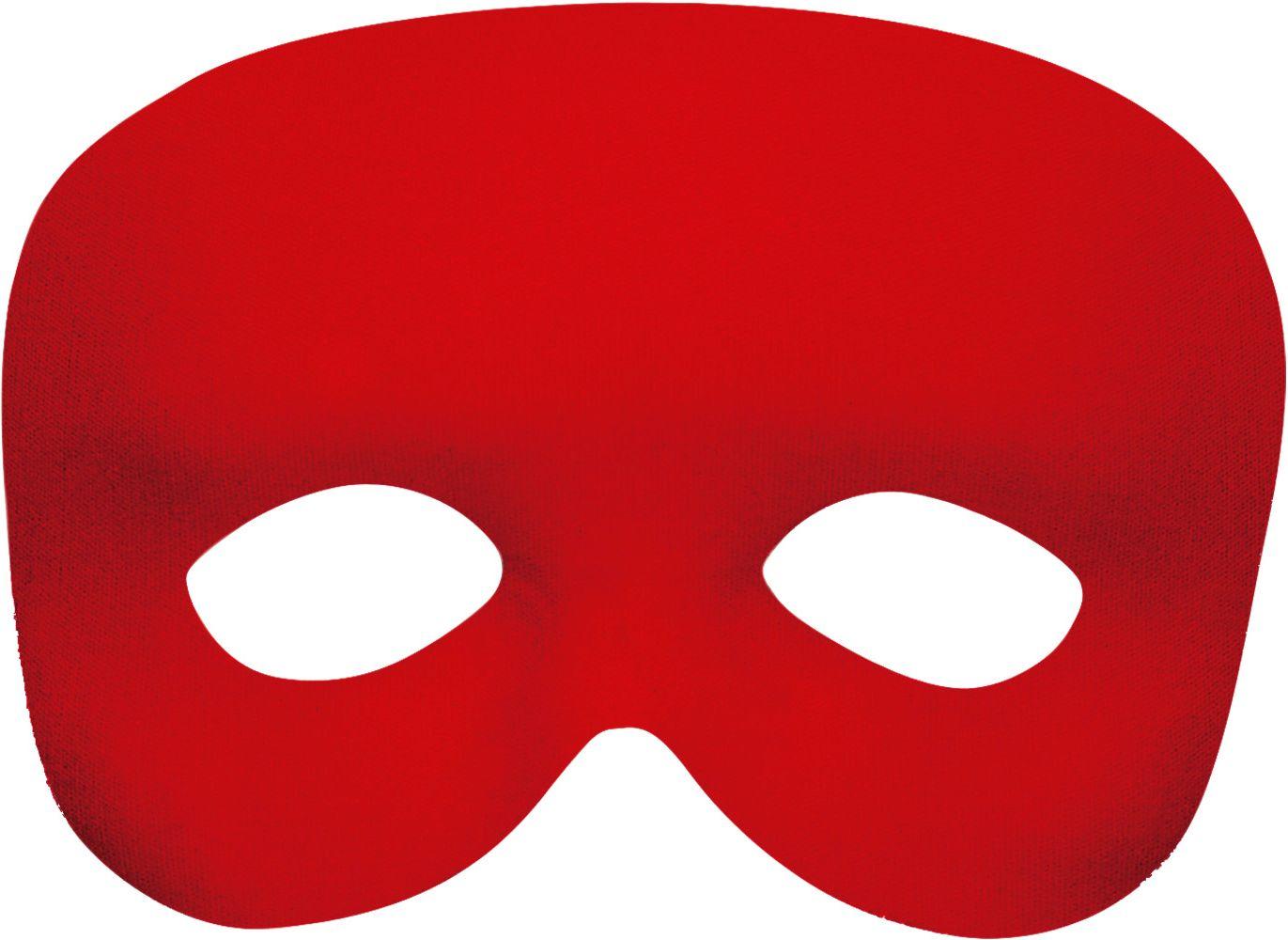 Rood fantoom oogmasker