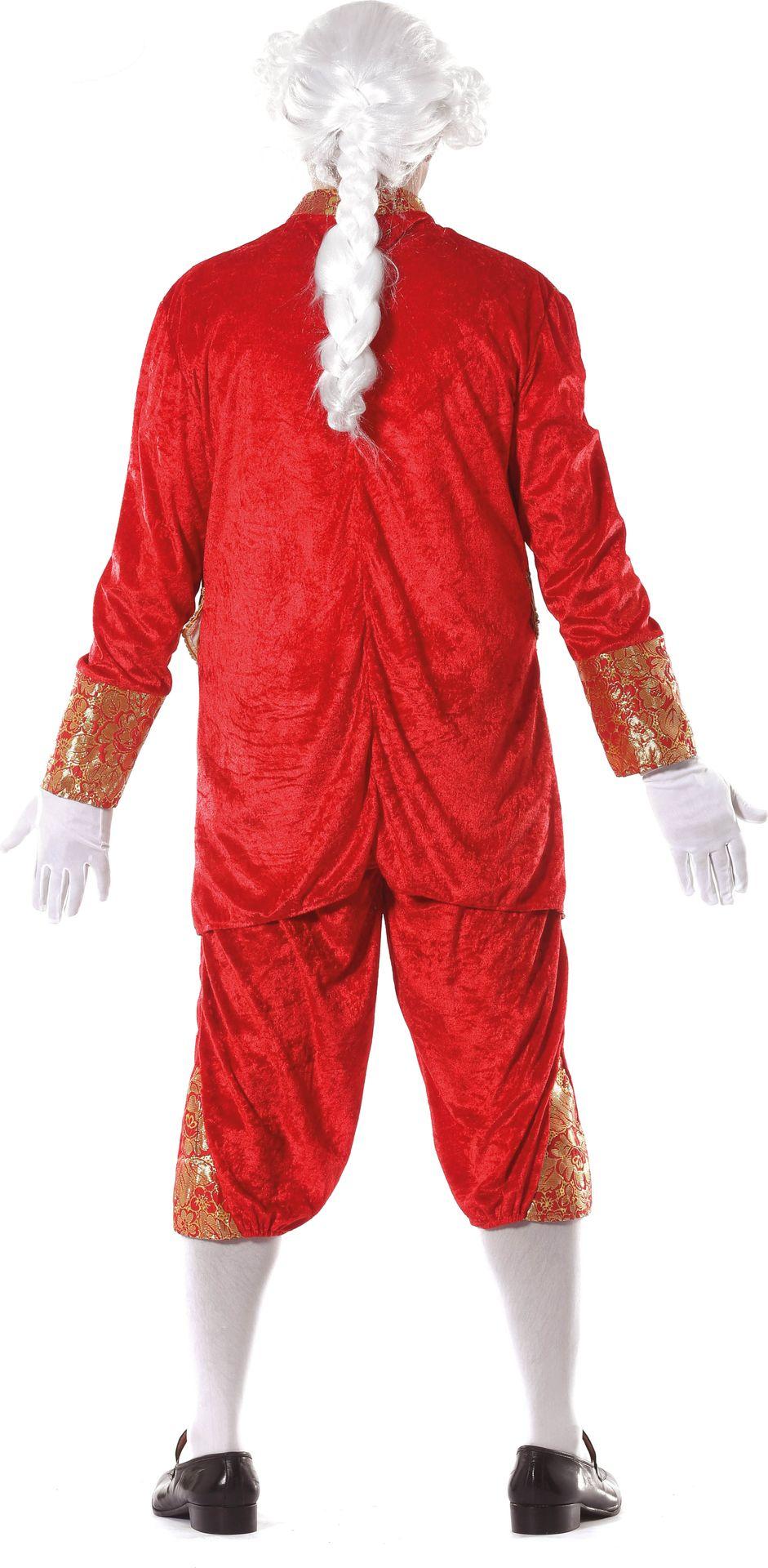 Rood markies kostuum