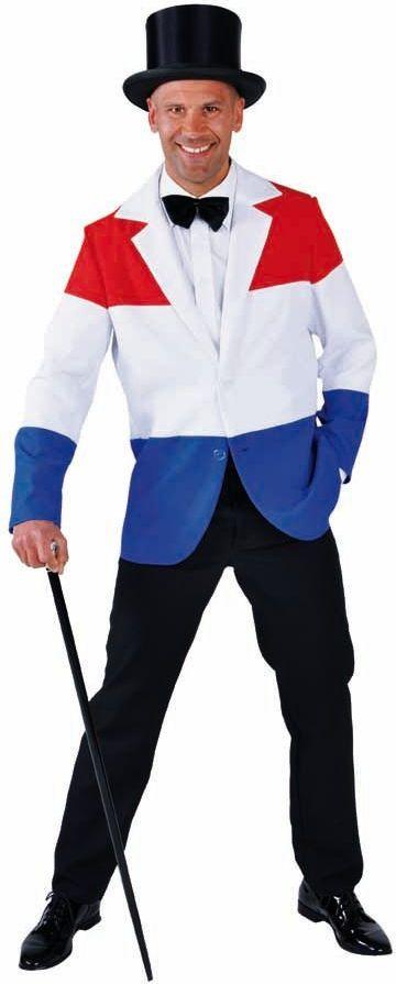 Rood wit blauwe colbert mannen