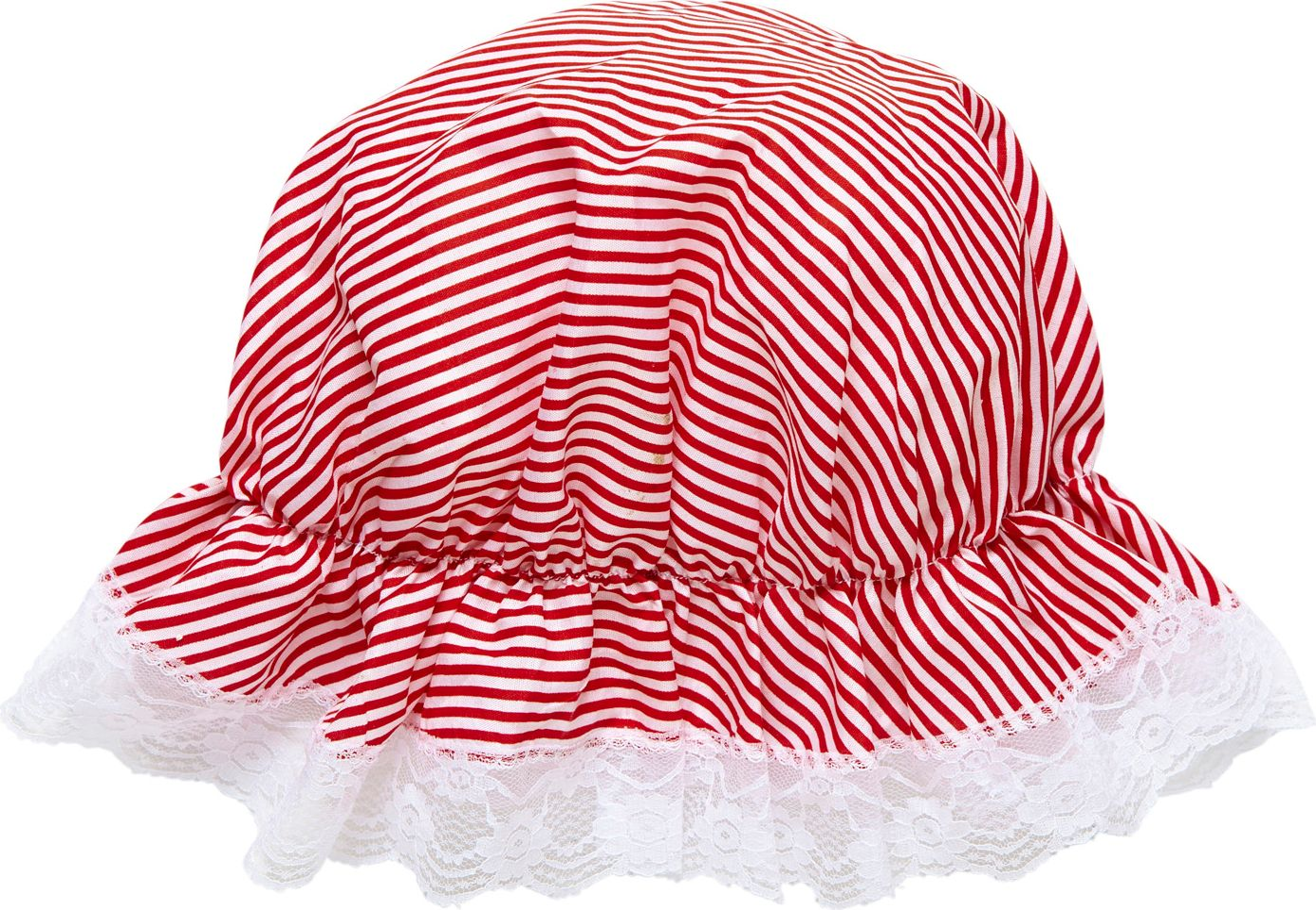 Rood witte bonnet