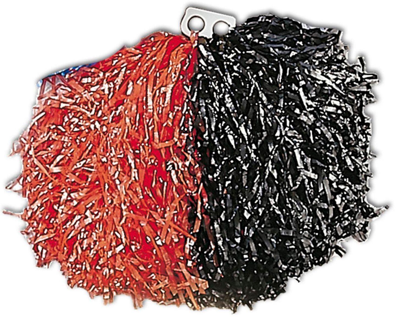 Rood zwarte cheerleader Pom Pom