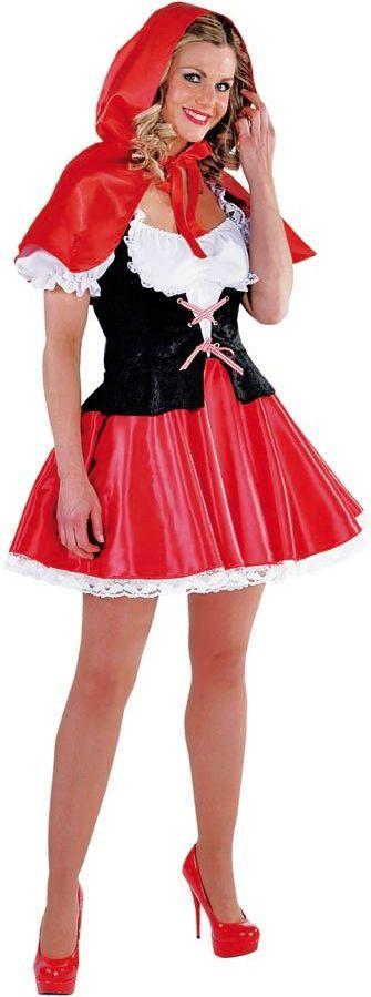 Roodkapje jurk luxe vrouwen