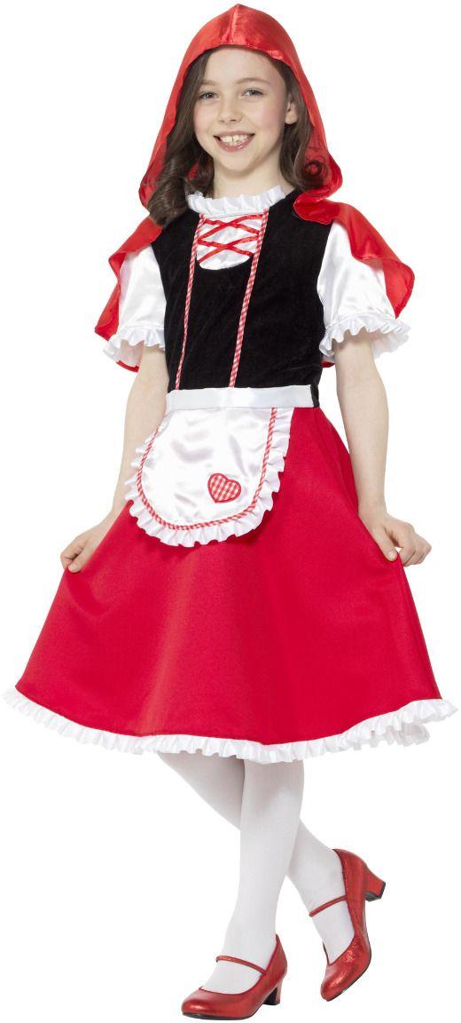 Roodkapje jurkje meisje