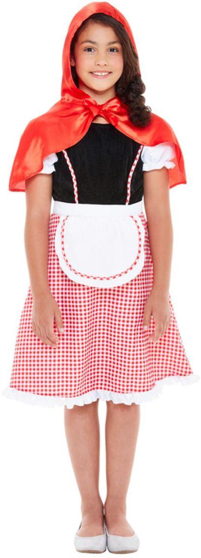 Roodkapje meisjes jurkje