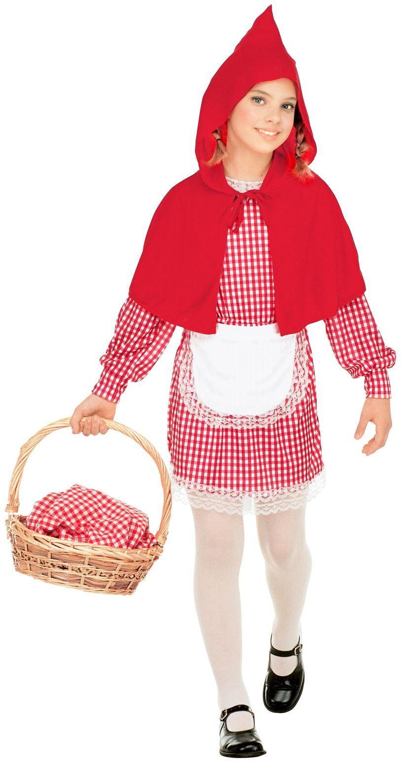 Roodkapje meisjes kostuum