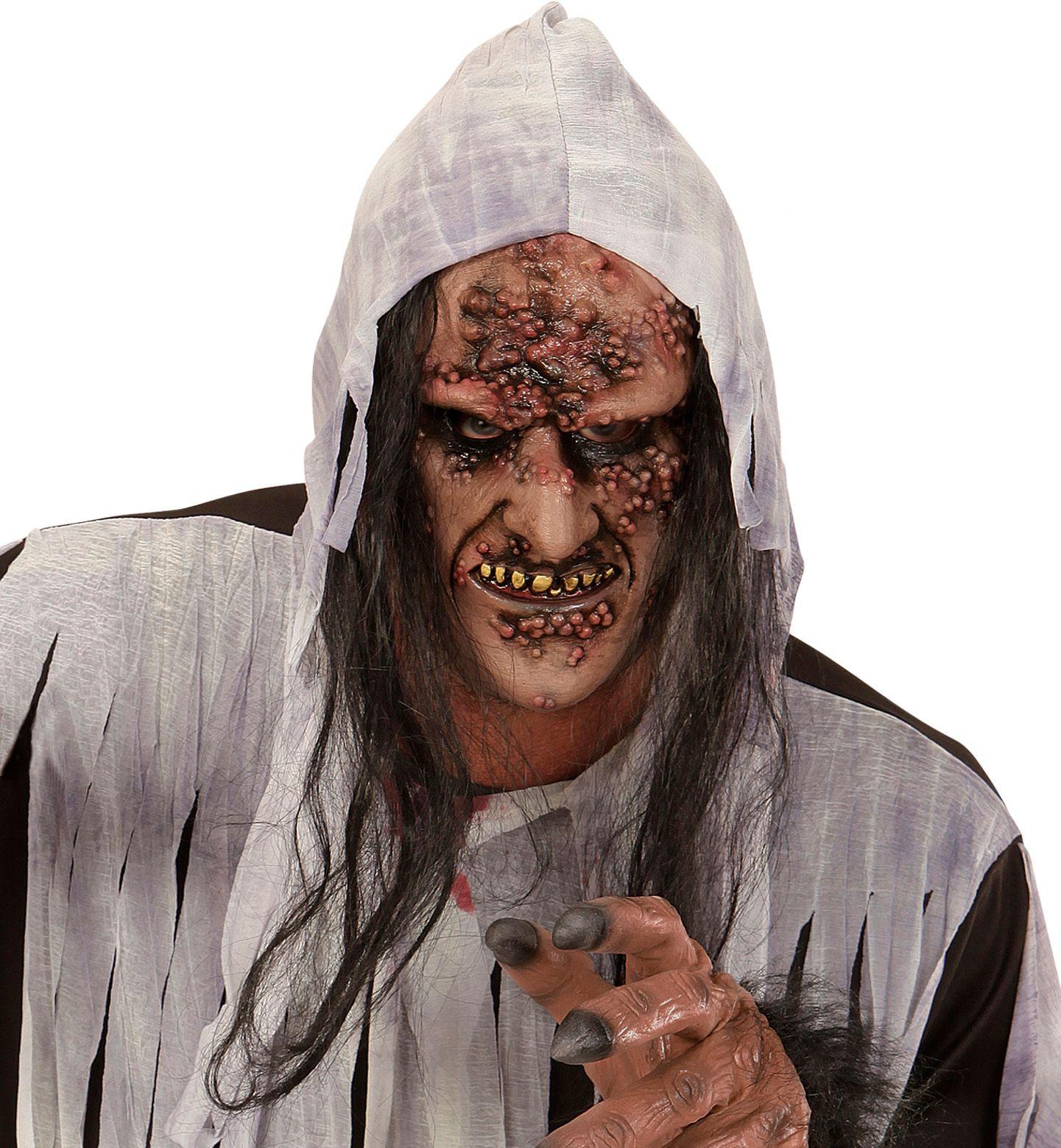 Rottende zombie masker