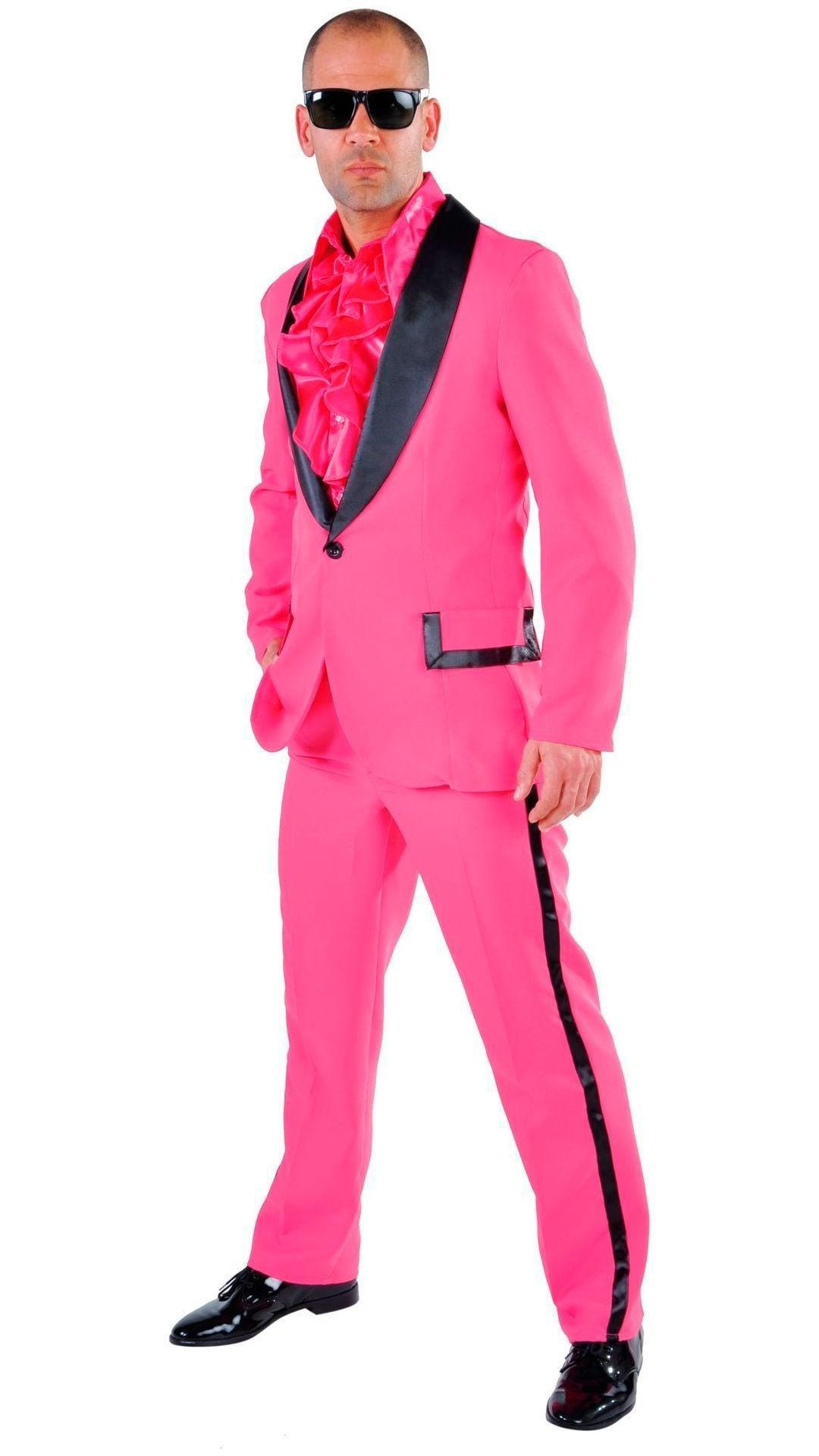 Roze 70s maatpak