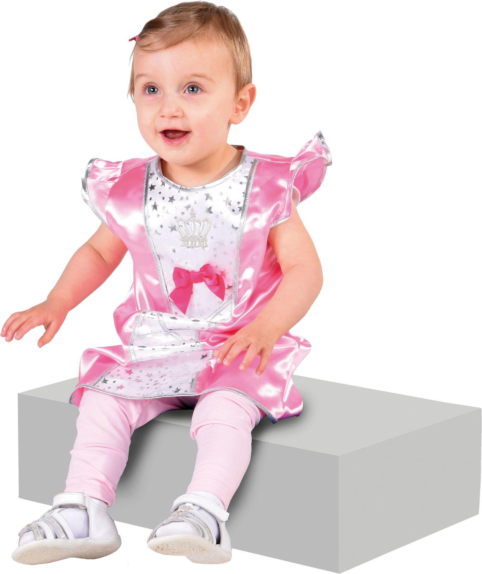 Roze baby prinses kostuum