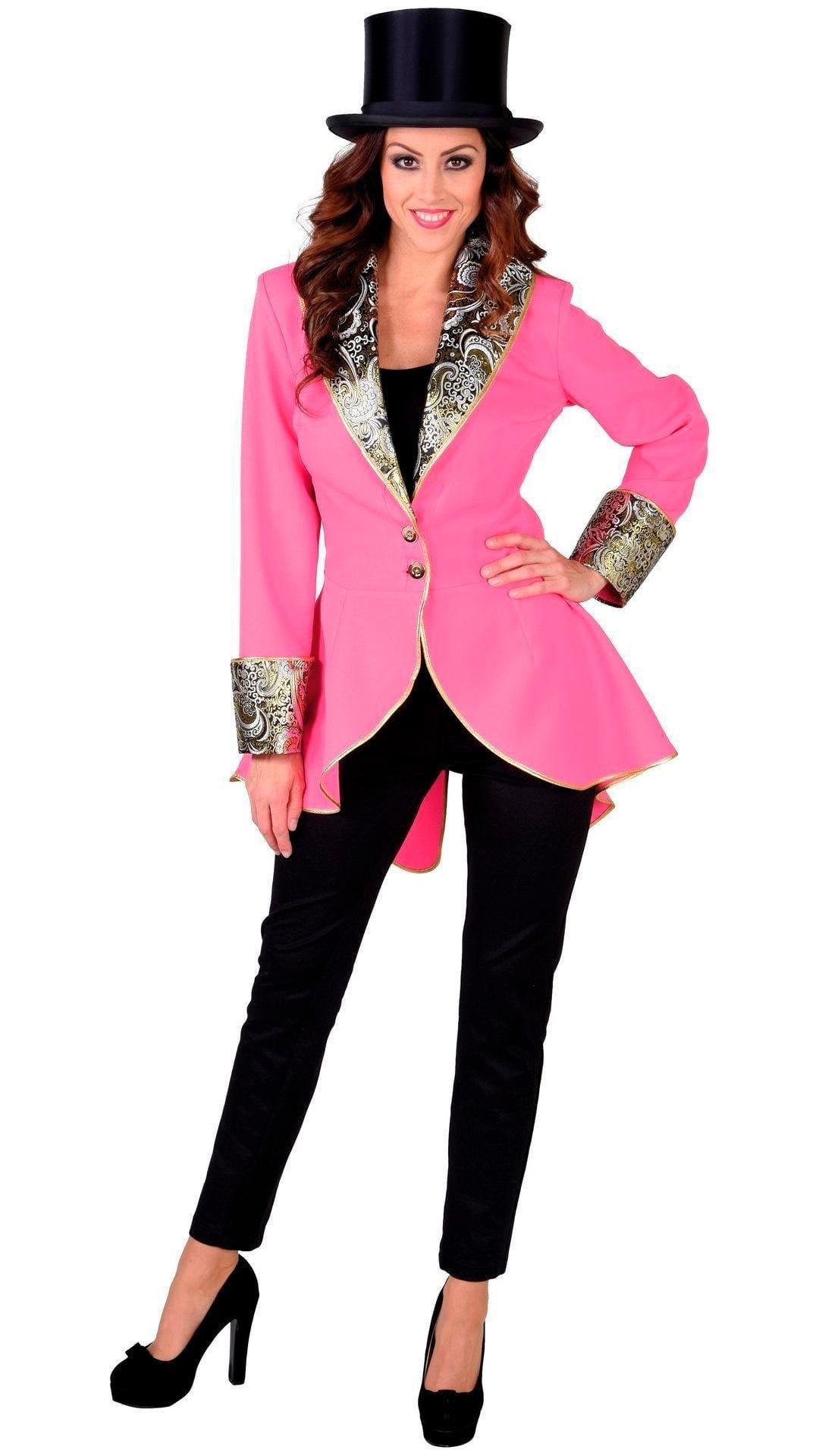 Roze dames jas