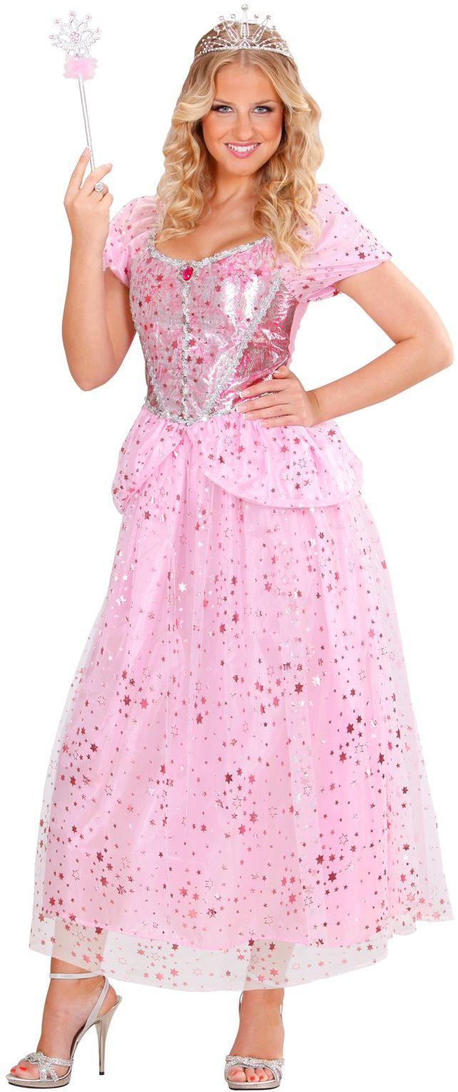 Roze feeën kostuum
