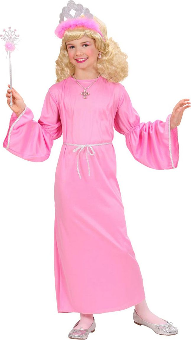 Roze feetje kostuum