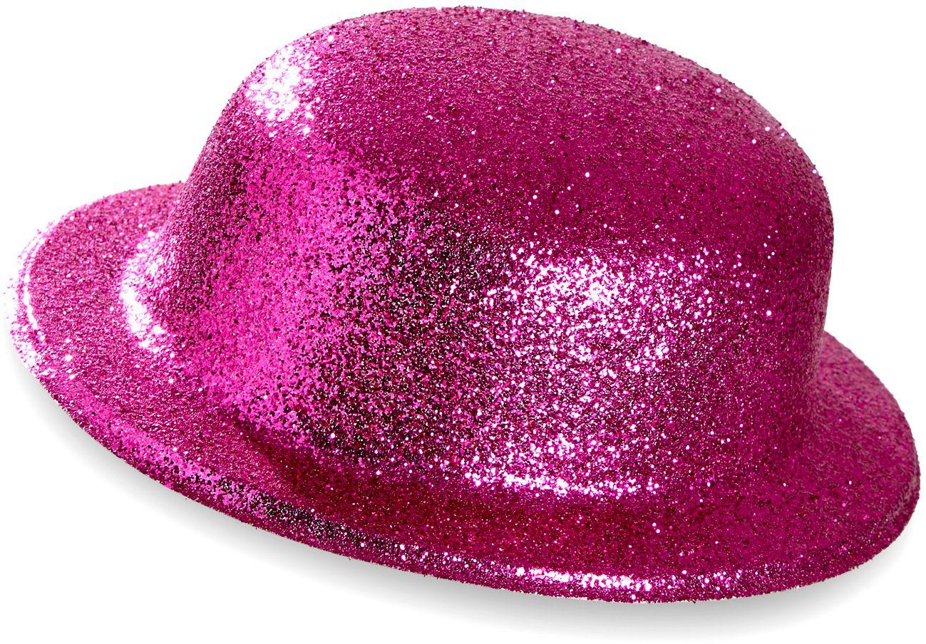 Roze glitter bolhoed