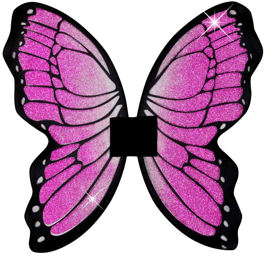 Roze glitter vleugels
