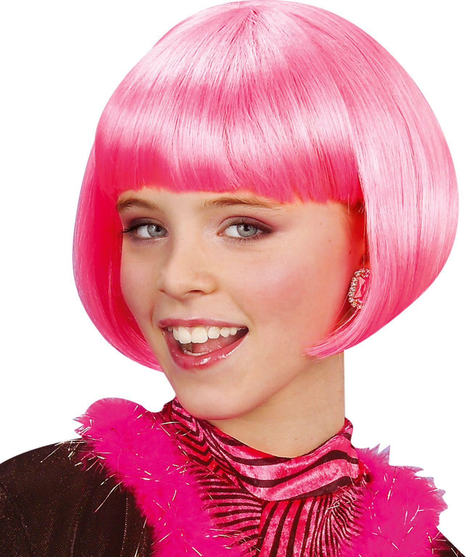 Roze Jenny kinder pruik