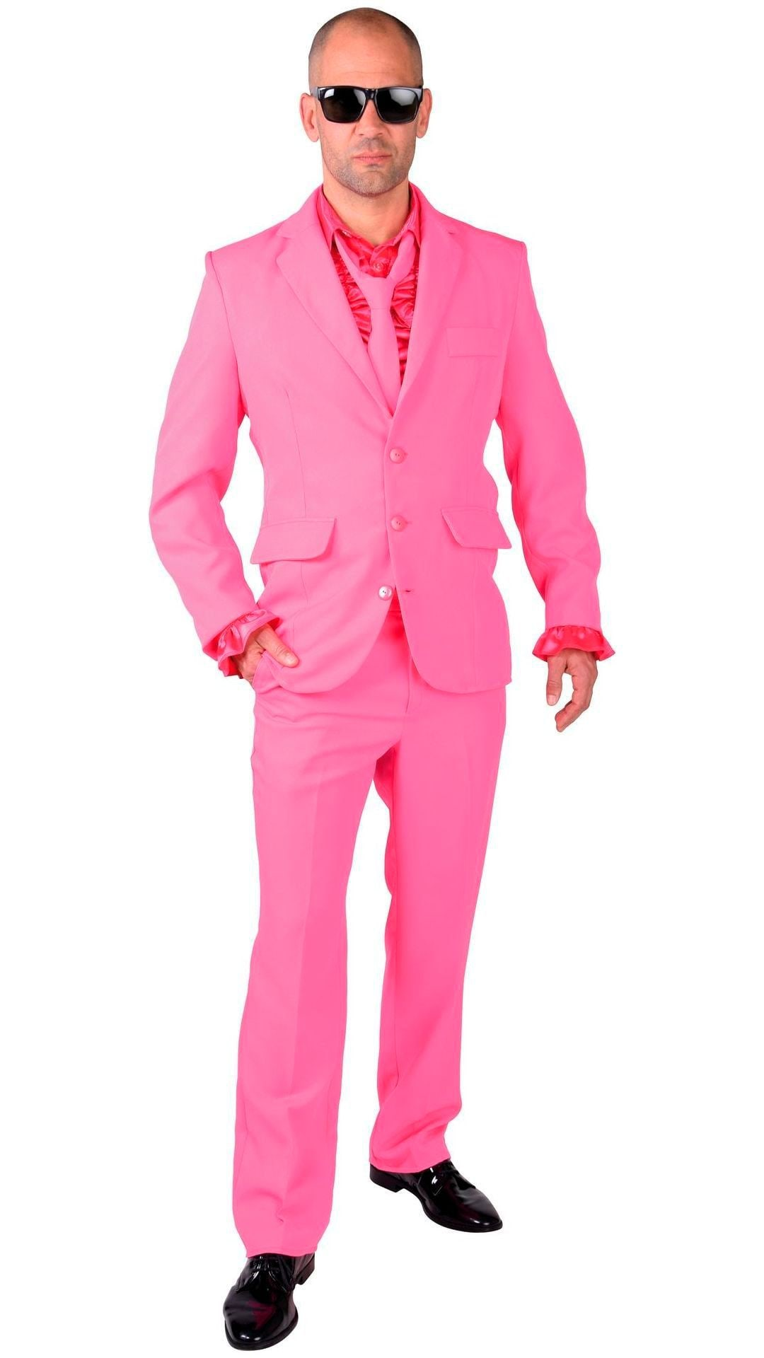 Roze maatpak