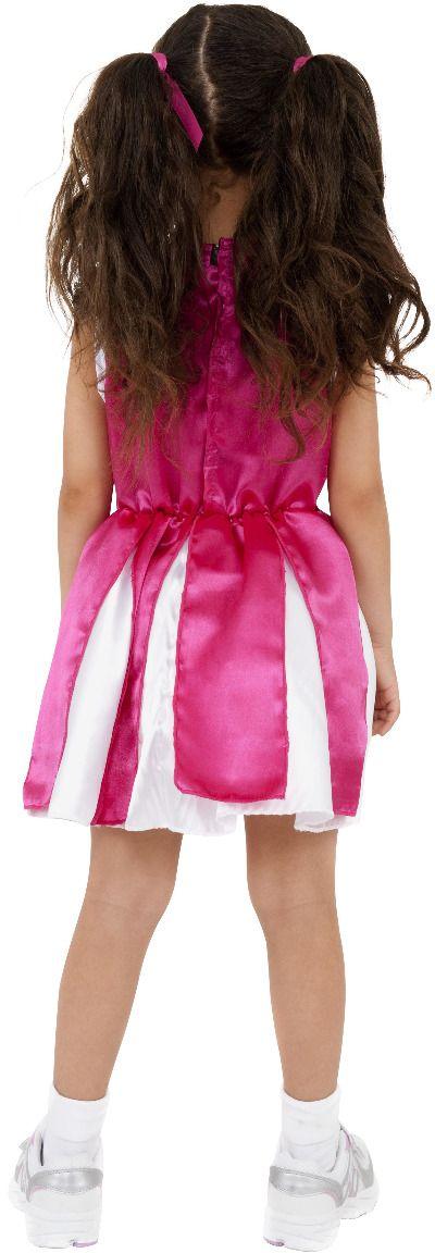 Roze meisjes cheerleader pakje