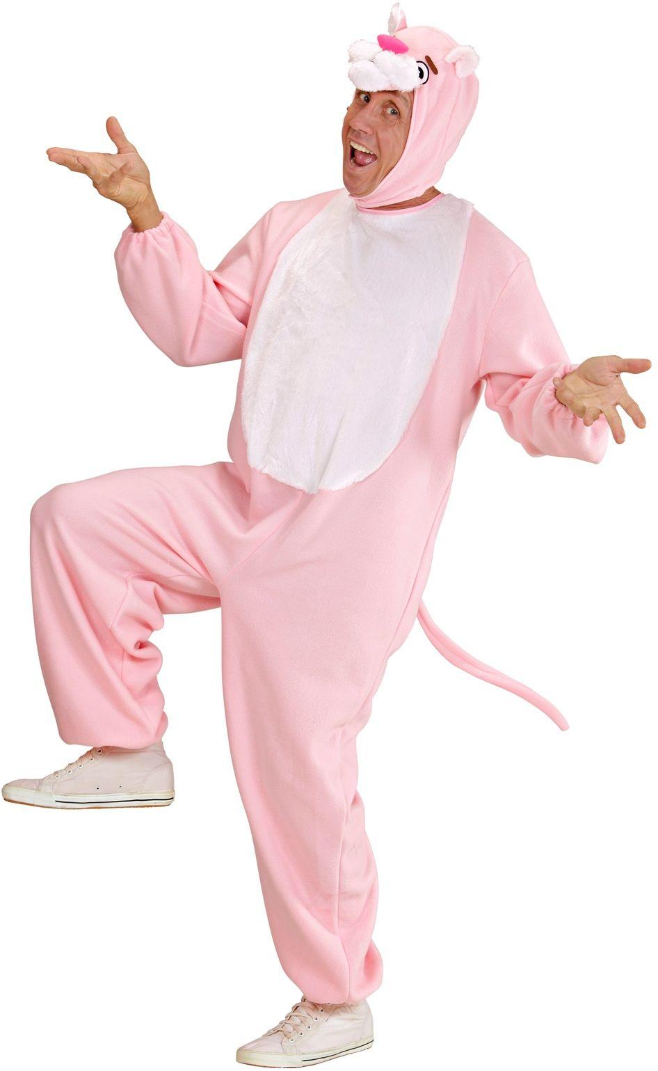 Roze panter kostuum