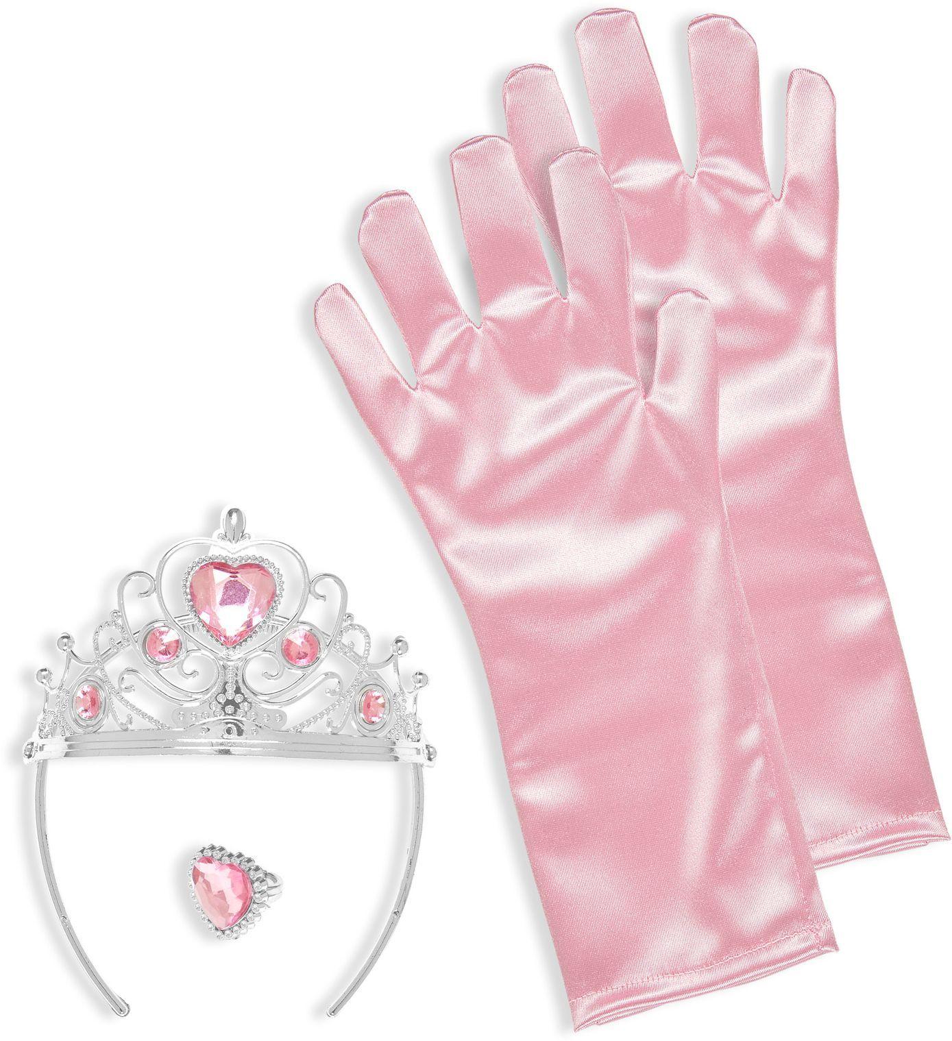 Roze prinses sieraden set