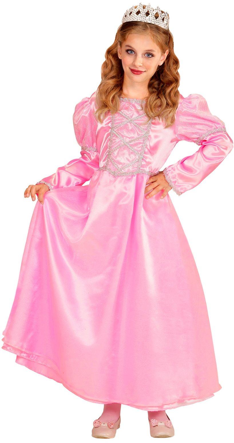 Roze prinsessen jurk kind