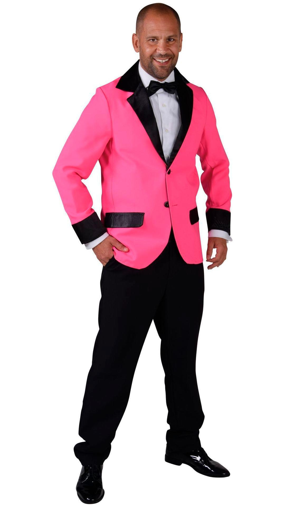 Roze retro colbert