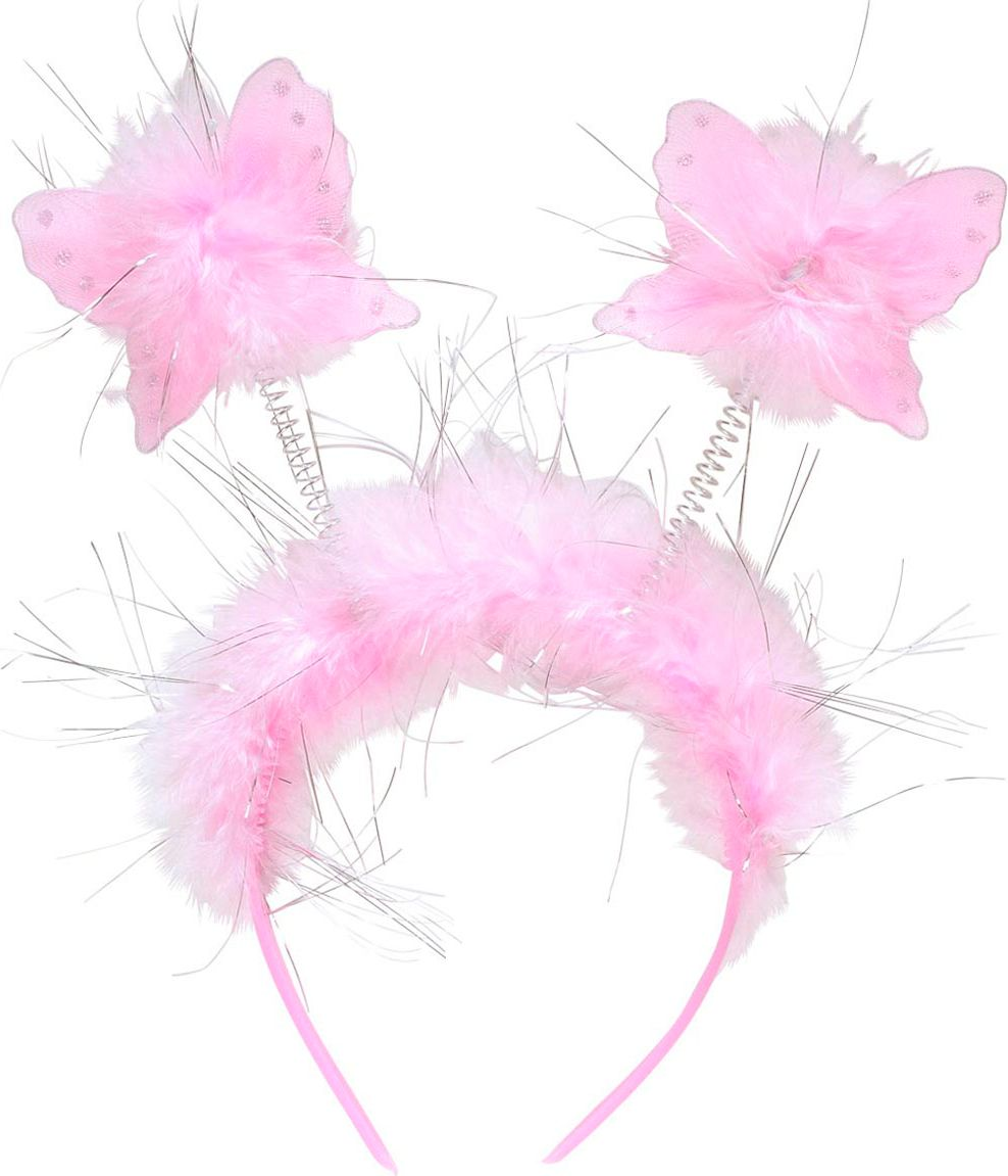Roze sprookjes hoofdband