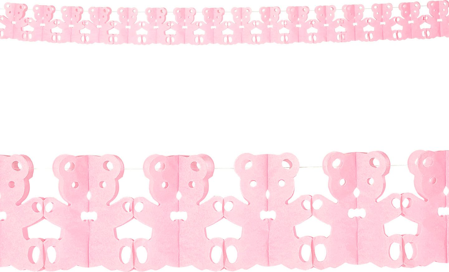 Roze teddy beer slingers