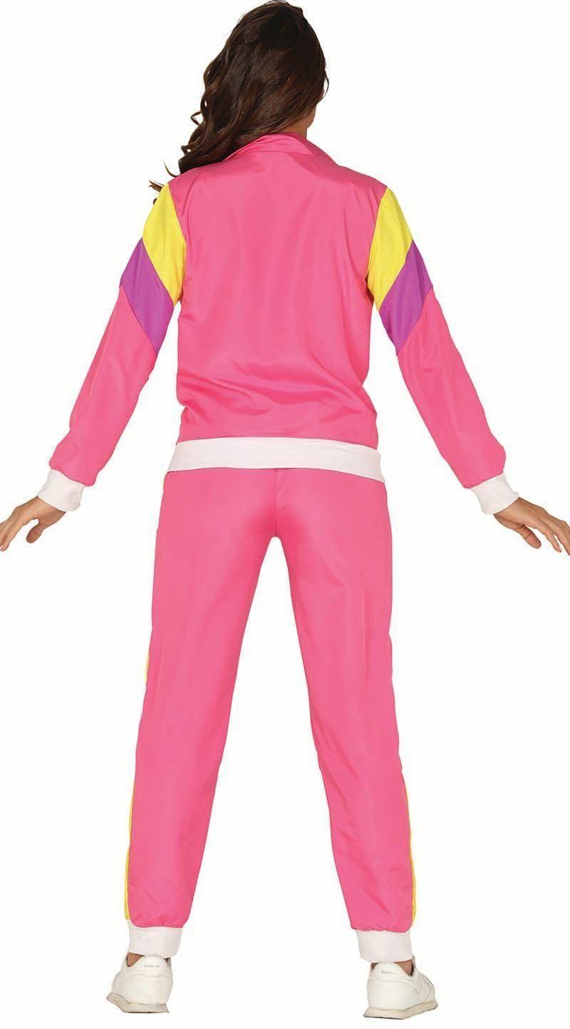 Roze Carnavalskleding Dames.Roze Trainingspak Dames Carnavalskleding Nl