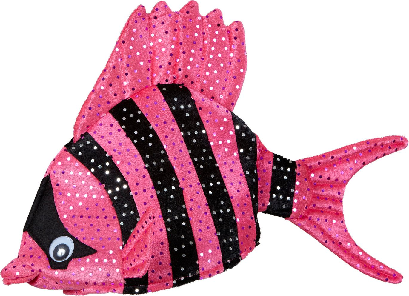 Roze tropische vis hoed