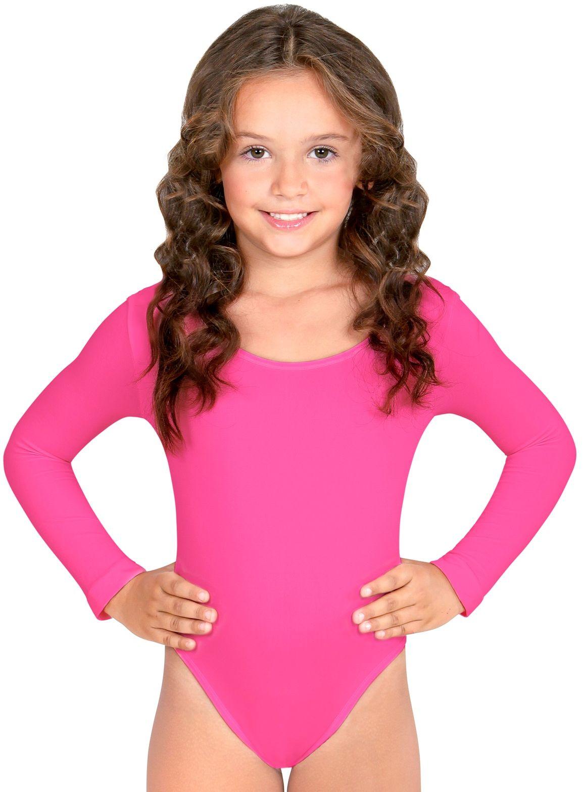 Roze turnpak meisjes