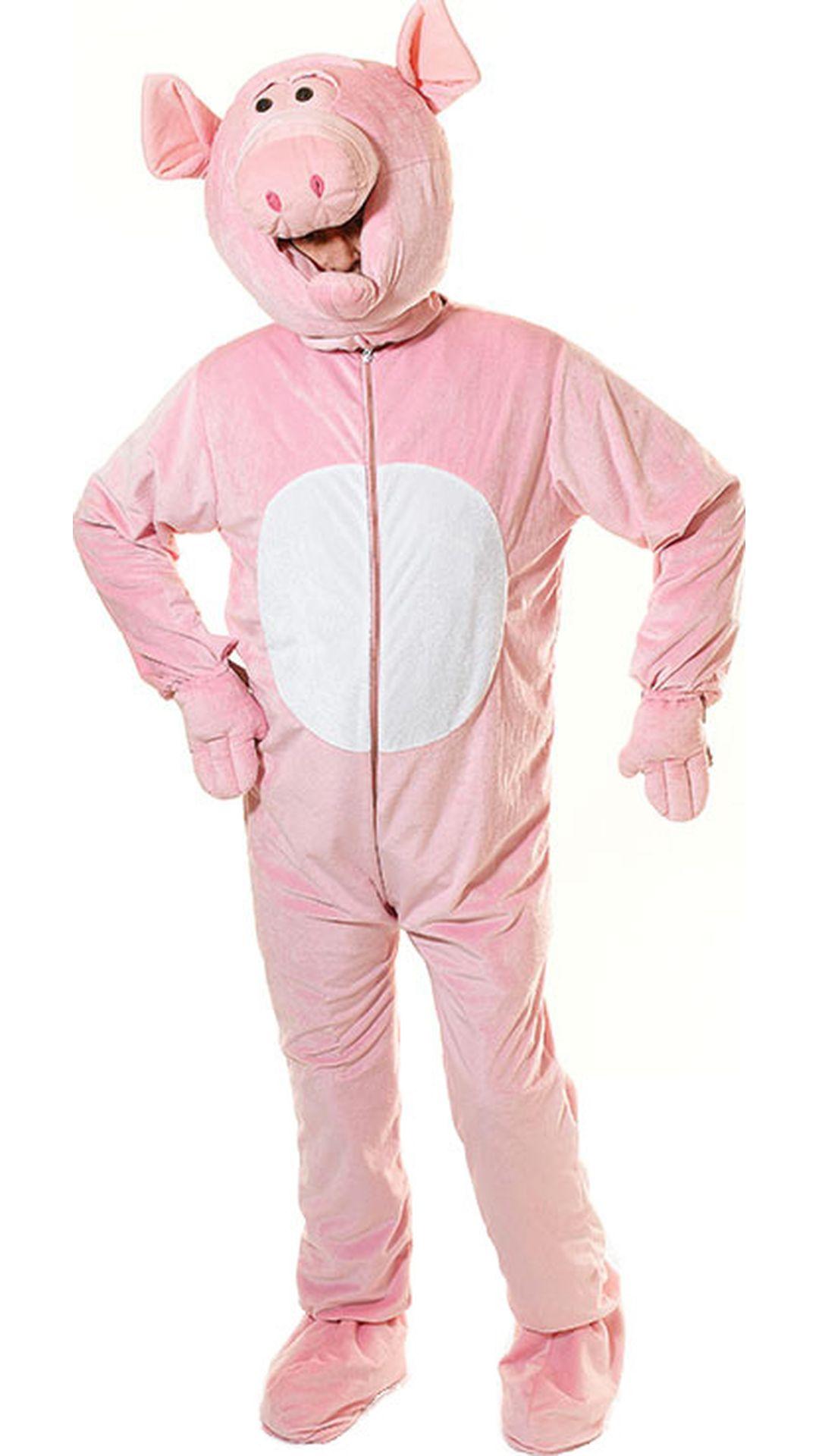 Roze varkenspak