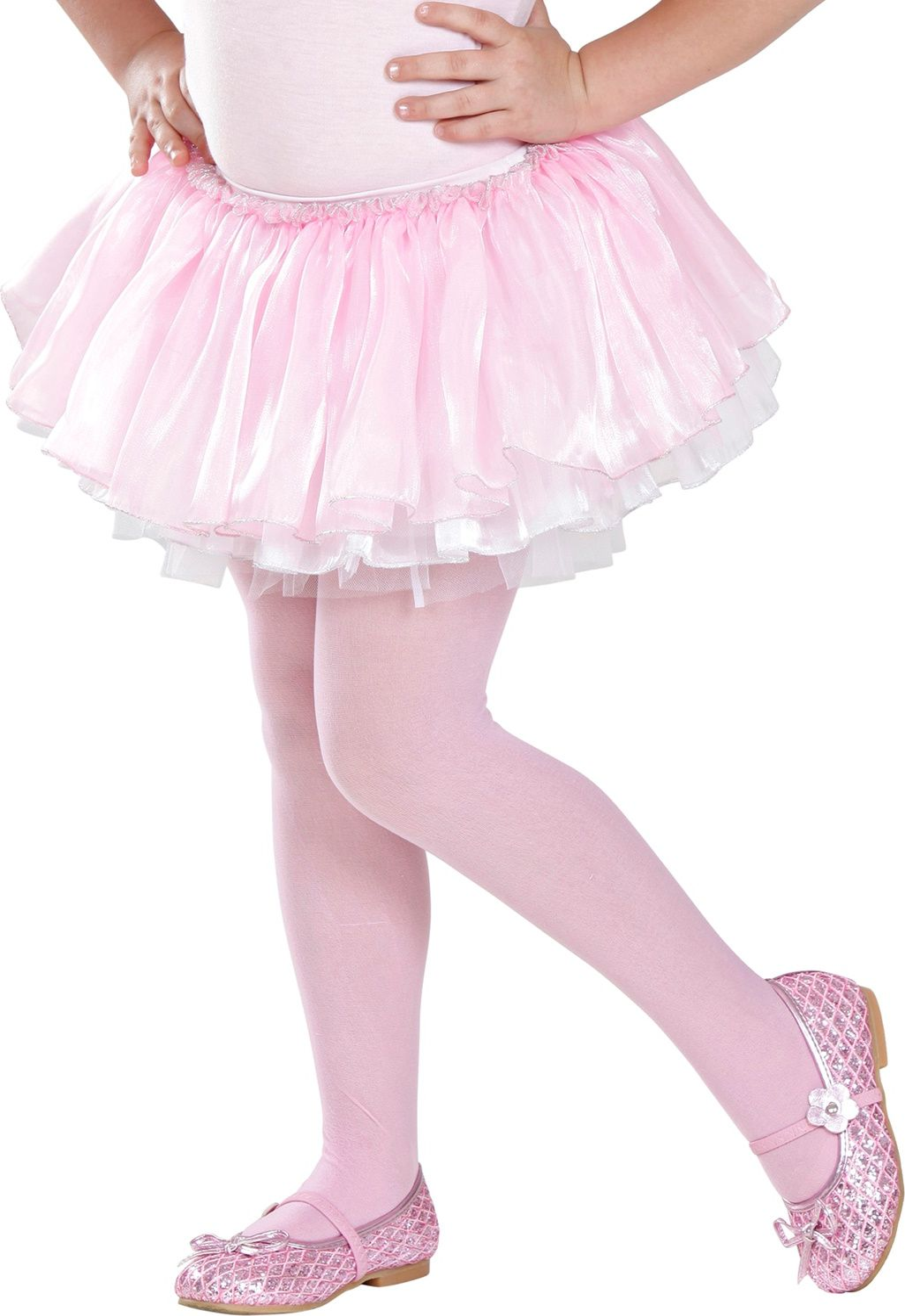 Roze witte tutu met tule