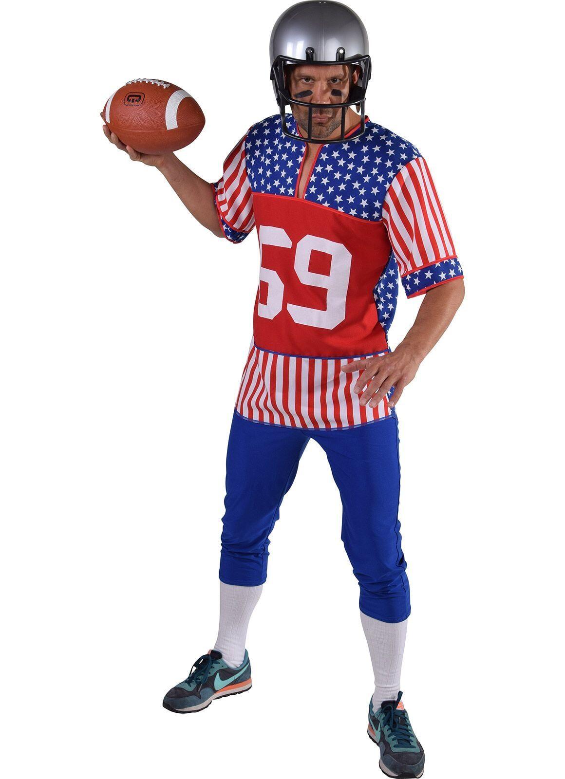 Rugby kostuum Amerika mannen